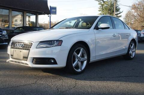2010 Audi A4 for sale at Zoom Auto Group in Parsippany NJ