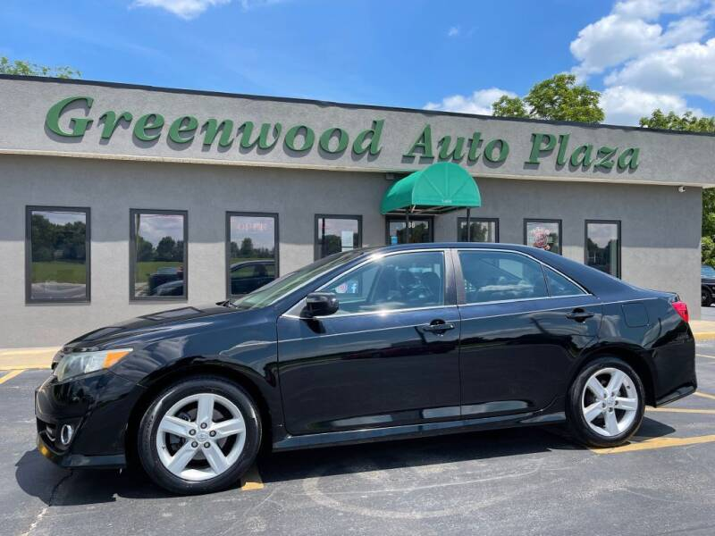2013 Toyota Camry for sale at Greenwood Auto Plaza in Greenwood MO