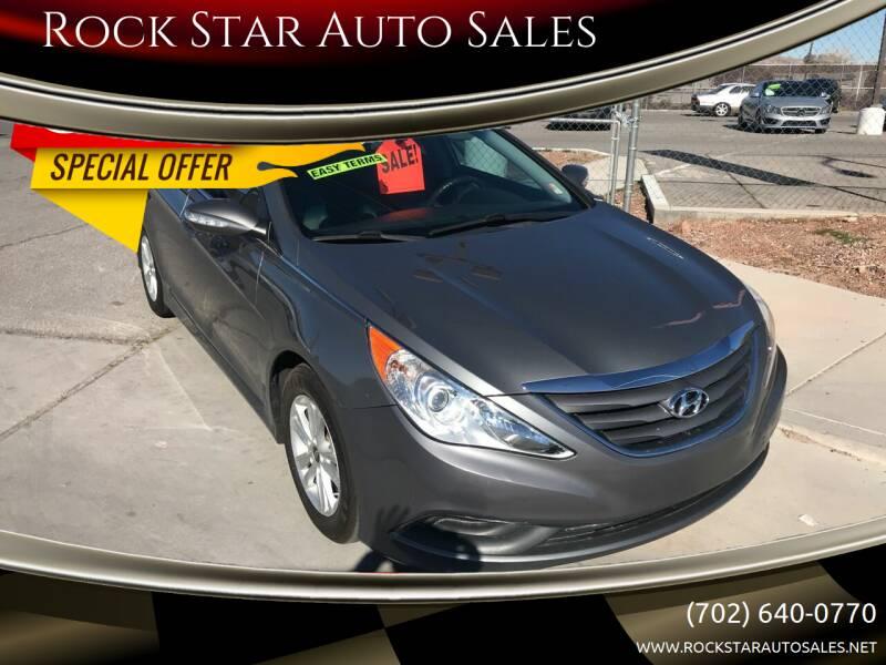 2014 Hyundai Sonata for sale at Rock Star Auto Sales in Las Vegas NV