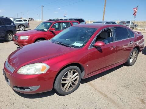 2010 Chevrolet Impala for sale at PYRAMID MOTORS - Pueblo Lot in Pueblo CO