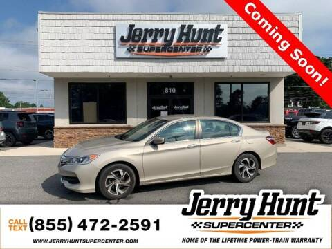 2017 Honda Accord for sale at Jerry Hunt Supercenter in Lexington NC