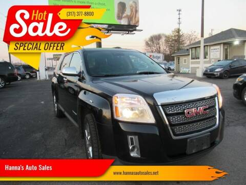 2015 GMC Terrain for sale at Hanna's Auto Sales in Indianapolis IN
