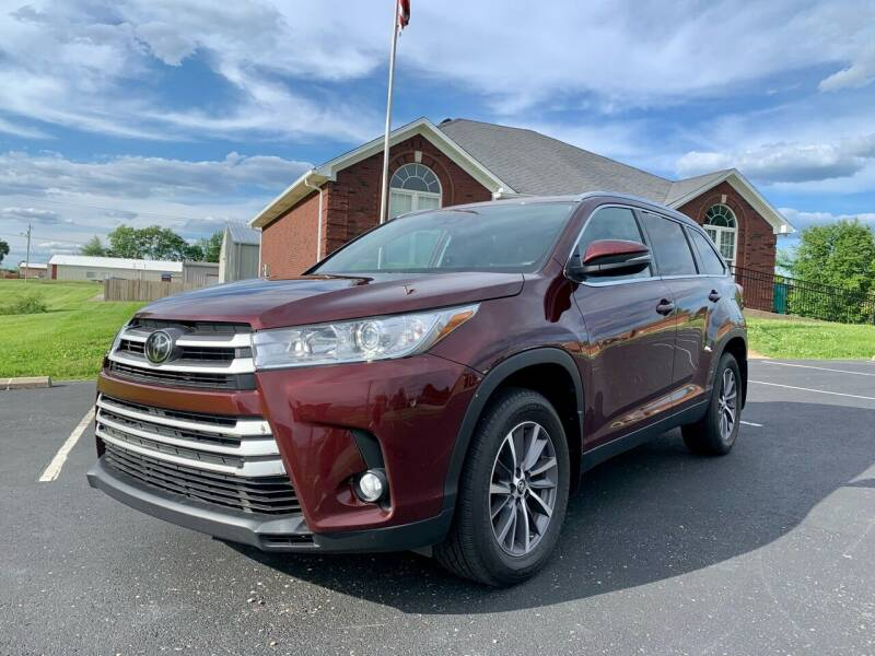2019 Toyota Highlander for sale at HillView Motors in Shepherdsville KY