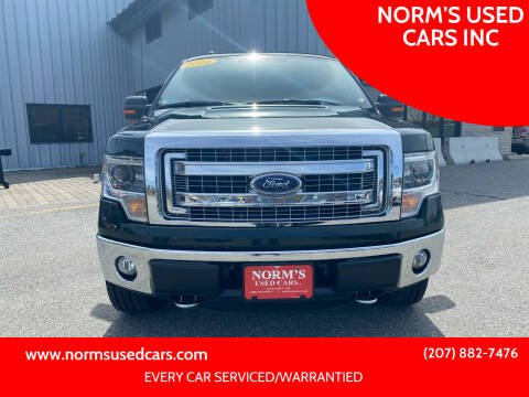 2014 Ford F-150 for sale at NORM'S USED CARS INC in Wiscasset ME