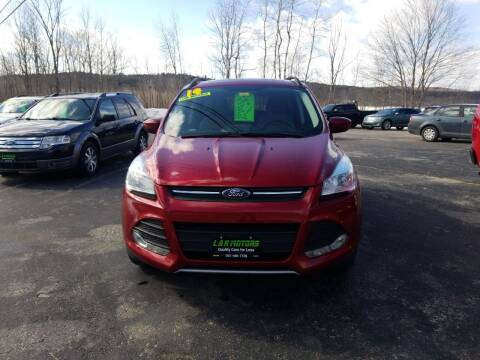 2014 Ford Escape for sale at L & R Motors in Greene ME