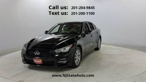 2015 Infiniti Q50 for sale at NJ State Auto Used Cars in Jersey City NJ