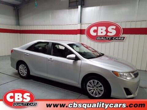 2012 Toyota Camry for sale at CBS Quality Cars in Durham NC