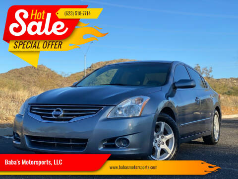 2012 Nissan Altima for sale at Baba's Motorsports, LLC in Phoenix AZ