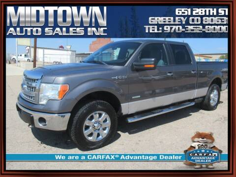 2013 Ford F-150 for sale at MIDTOWN AUTO SALES INC in Greeley CO