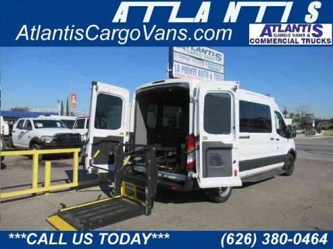 2016 Ford Transit Cargo for sale at Atlantis Auto Sales in La Puente CA