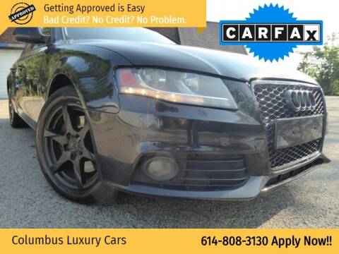2009 Audi A4 for sale at Columbus Luxury Cars in Columbus OH