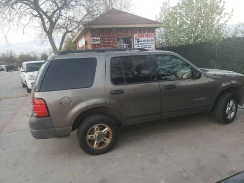 2004 Ford Explorer for sale at El Jasho Motors in Grand Prairie TX