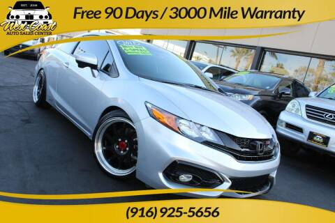 2015 Honda Civic for sale at West Coast Auto Sales Center in Sacramento CA
