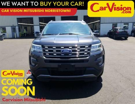 2017 Ford Explorer for sale at Car Vision Mitsubishi Norristown in Norristown PA
