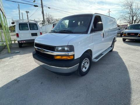 2019 Chevrolet Express Cargo for sale at RODRIGUEZ MOTORS CO. in Houston TX