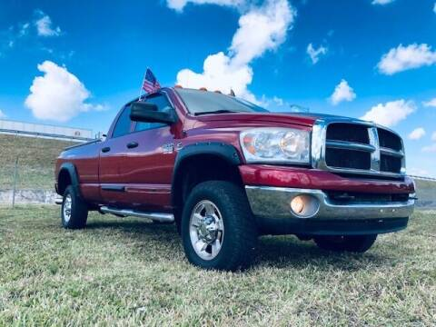 2007 Dodge Ram Pickup 2500 for sale at Venmotors LLC in Hollywood FL