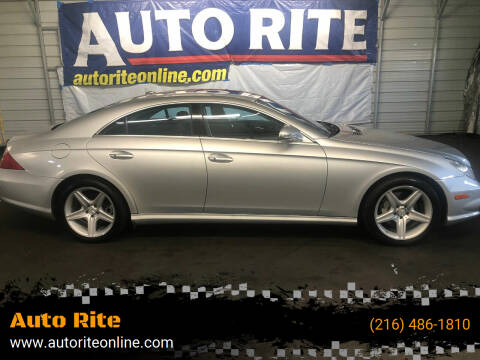 2008 Mercedes-Benz CLS for sale at Auto Rite in Bedford Heights OH