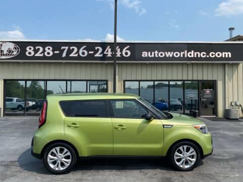 2015 Kia Soul for sale at AutoWorld of Lenoir in Lenoir NC