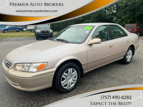 2000 Toyota Camry for sale at Premier Auto Brokers in Virginia Beach VA