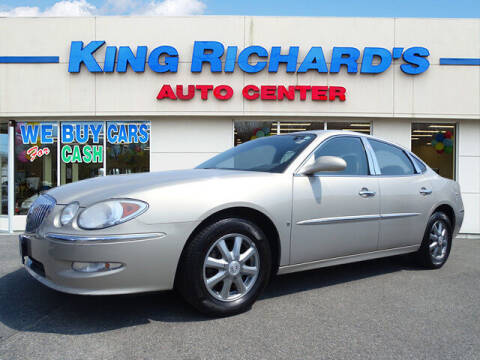 2008 Buick LaCrosse for sale at KING RICHARDS AUTO CENTER in East Providence RI