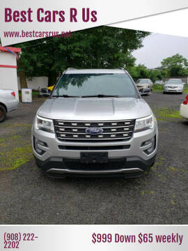 2017 Ford Explorer for sale at Best Cars R Us in Plainfield NJ