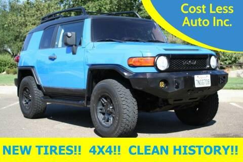2007 Toyota FJ Cruiser for sale at Cost Less Auto Inc. in Rocklin CA