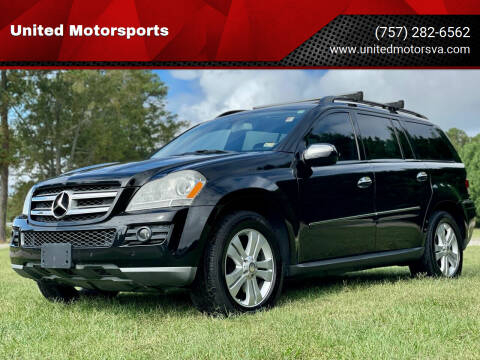 2009 Mercedes-Benz GL-Class for sale at United Motorsports in Virginia Beach VA