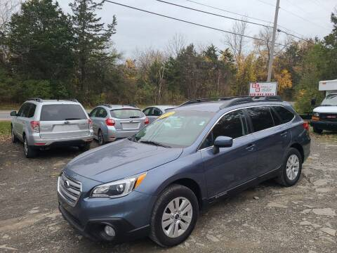 2017 Subaru Outback for sale at B & B GARAGE LLC in Catskill NY