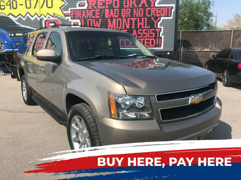 2007 Chevrolet Suburban for sale at Rock Star Auto Sales in Las Vegas NV