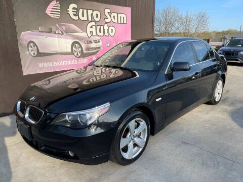 2007 BMW 5 Series for sale at Euro Auto in Overland Park KS