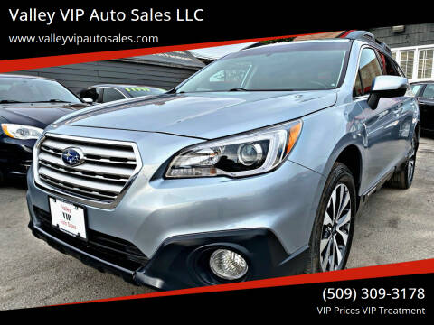 2015 Subaru Outback for sale at Valley VIP Auto Sales LLC in Spokane Valley WA