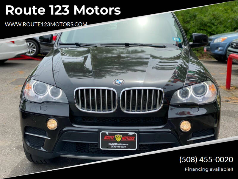 2013 BMW X5 for sale at Route 123 Motors in Norton MA