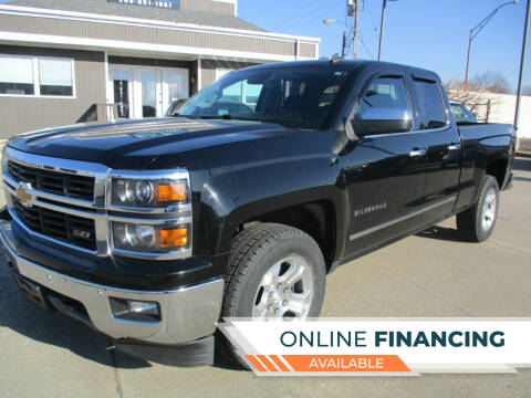 2014 Chevrolet Silverado 1500 for sale at Smith and Stanke Auto Sales in Sturgis MI