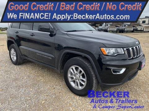 2018 Jeep Grand Cherokee for sale at Becker Autos & Trailers in Beloit KS