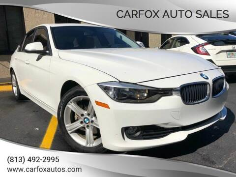 2014 BMW 3 Series for sale at Carfox Auto Sales in Tampa FL