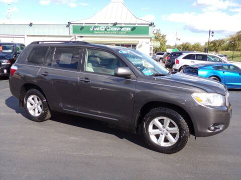 2010 Toyota Highlander for sale at Jim O'Connor Select Auto in Oconomowoc WI