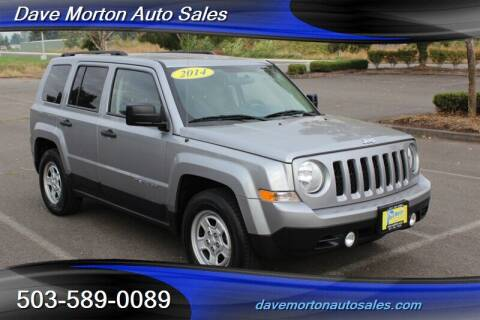 2014 Jeep Patriot for sale at Dave Morton Auto Sales in Salem OR