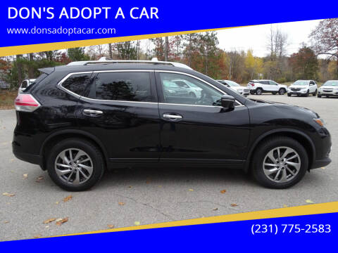 2014 Nissan Rogue for sale at DON'S ADOPT A CAR in Cadillac MI