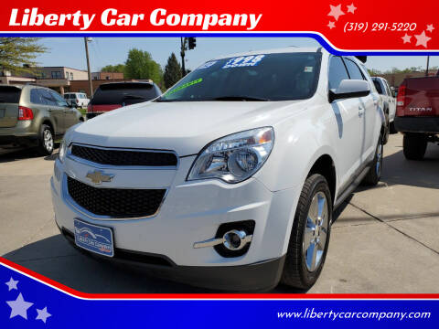 2012 Chevrolet Equinox for sale at Liberty Car Company in Waterloo IA