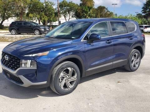 2021 Hyundai Santa Fe for sale at DORAL HYUNDAI in Doral FL