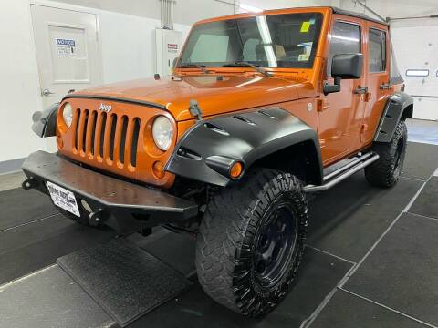 2010 Jeep Wrangler Unlimited for sale at TOWNE AUTO BROKERS in Virginia Beach VA