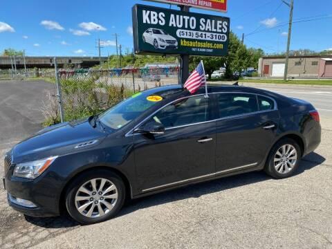 2014 Buick LaCrosse for sale at KBS Auto Sales in Cincinnati OH