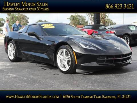2017 Chevrolet Corvette for sale at Hawley Motor Sales in Sarasota FL