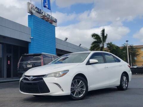 2015 Toyota Camry for sale at Tech Auto Sales in Hialeah FL
