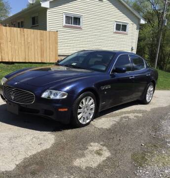 2007 Maserati Quattroporte for sale at Trocci's Auto Sales in West Pittsburg PA