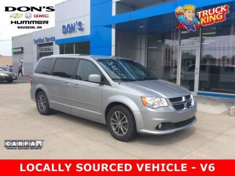 2017 Dodge Grand Caravan for sale at DON'S CHEVY, BUICK-GMC & CADILLAC in Wauseon OH
