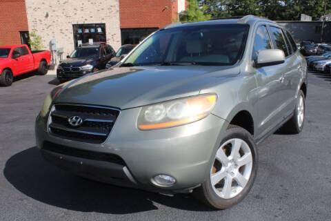 2009 Hyundai Santa Fe for sale at Atlanta Unique Auto Sales in Norcross GA