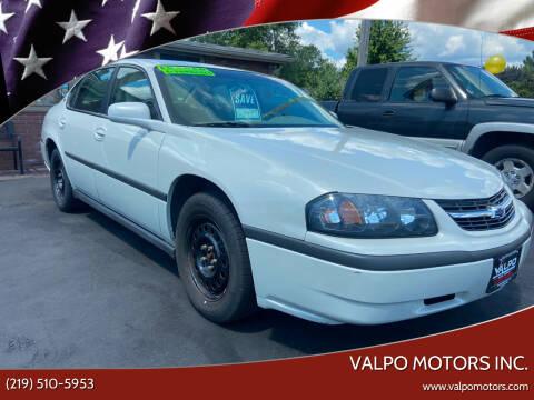 2003 Chevrolet Impala for sale at Valpo Motors Inc. in Valparaiso IN