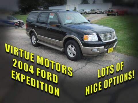 2004 Ford Expedition for sale at Virtue Motors in Darlington WI