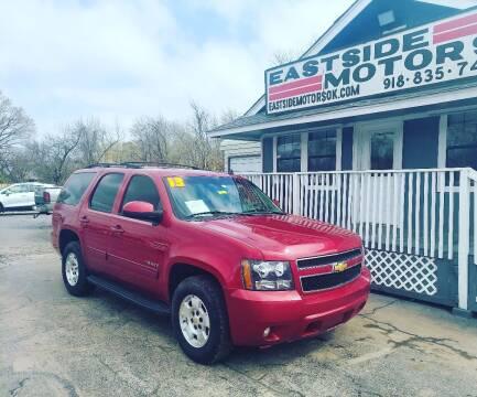 2013 Chevrolet Tahoe for sale at EASTSIDE MOTORS in Tulsa OK